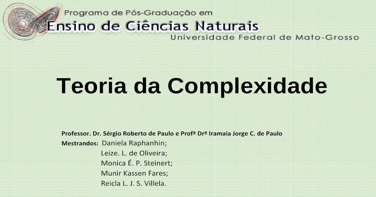 Teoria da Endossimbiose Sequencial - [PDF Document]